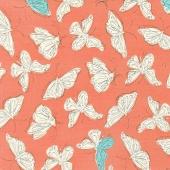 Wild Nectar - Flutter Clementine Yardage
