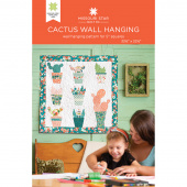 Cactus Wall Hanging Quilt Pattern by Missouri Star