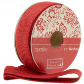 "Chafarcani Webbing - 1 1/2"" Red"