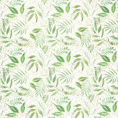 Moody Bloom - Breezy Botanical Jungle Digitally Printed Yardage