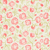 Abby Rose - Bramble Cream Yardage