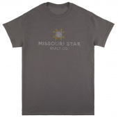 Missouri Star Bling Charcoal  T-Shirt - Meduim