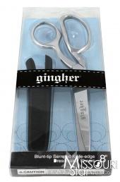 """Knife Edge Serrated Blade 8"""" Dressmaker's Shears (Scissors)"""