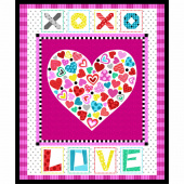 Big Love - Big Love Black/Pink Panel