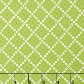 Guernsey - Kit Flower Plaid Leaf Yardage