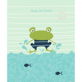 Ready Set Splash - Frog Deepsea Panel