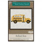 School Bus Precut Fused Appliqué Pack