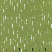 Merriment - Winter Trees Holly Yardage