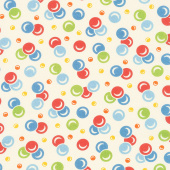 It's Elementary - Bubbles Cream Yardage