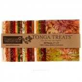 Tonga Treats Batiks - Autumn Charm Pack