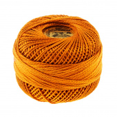 Presencia Perle Cotton Thread Size 8 Dark Golden Brown