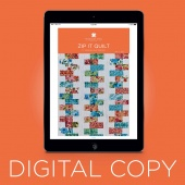 Digital Download - Zip It Quilt Pattern by Missouri Star
