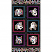 Dog On It - Black Multi Metallic Panel