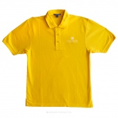 Embroidered Missouri Star Logo X-Large Polo - Sunflower