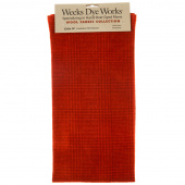 Weeks Dye Works Hand Over Dyed Wool Fat Quarter - Glen Plaid Louisiana Hot Sauce