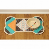 Dog Bone Quilt As You Go Place Mat Kit