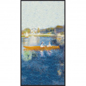 Renoir - Boat Water Digitally Printed Panel