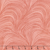 "Wave Texture - Wave Texture Red 108"" Wide Backing"