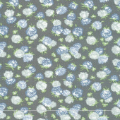 At Home with Bonnie and Camille - Camille's House Blossoms Graphite C Yardage