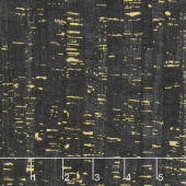 Uncorked - Onyx Metallic Yardage