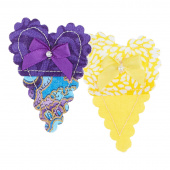 Friends Give Color Heart Pin - Assorted Colors
