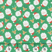 Jolly Season - Santas Spruce Yardage
