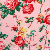Fruta y Flor - Cottage Rose Rose Yardage