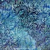 Tigerfish Batiks - Spiny Sea Urchin Ocean Yardage