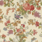 Bed of Roses - Bisque Yardage
