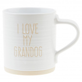 I Love My Grandog Mug