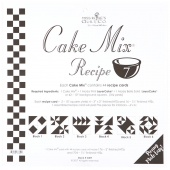 Cake Mix Recipe 7 by Miss Rosie's Quilt Co