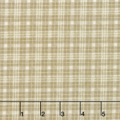 Moose Lake - Plaid Natural Yardage