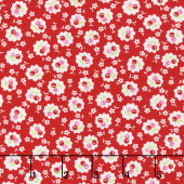 Badda Bing! - Everything Cherry Red Yardage