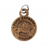 Pony Express Missouri State Collectible Charm