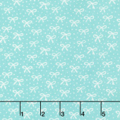 Best Friends Forever - Just a Pretty Bow Dark Aqua Yardage