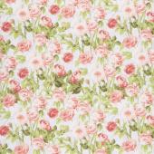 Flower Market - Climbing Roses Pink Yardage