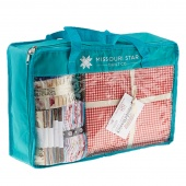 Missouri Star Precut Storage Bag - Bold Aqua