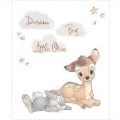 Disney Sentimental - Dream Big in White with Metallic Copper Panel