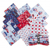 Patriotic Parade Fat Quarter Bundle