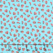 Love Letters - Lady Bugs Morning Glory Yardage