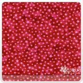 Moda Marble Stars - Turkey Red Yardage