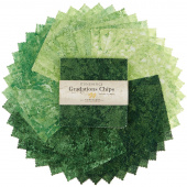 Stonehenge Gradations Brights - Rainforest Chips