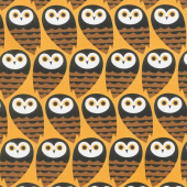 Animals - Geometric Owls Gold Yardage