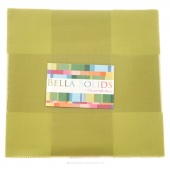 Bella Solids Clover Junior Layer Cake by Moda