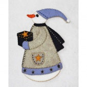 Glenda Snow Woman Wool Felt Kit