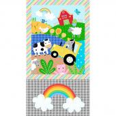 Farm Friends - Farm Friends White Panel