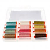 Edyta Sitar Crystal Farm Aurifil Thread Box