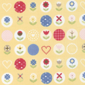 Gretel - Main Yellow Yardage