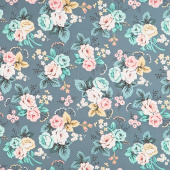 Splendor - Main Teal Yardage