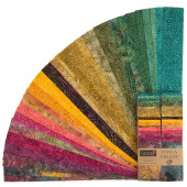 "Tonga Treats Batiks - Colorwheel Forest 2.5"" Strips"